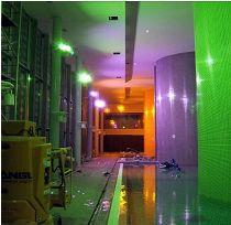 Thermal Spa Siklós –  színesbe öltöztetve (átadás előtti  próbavilágítás)